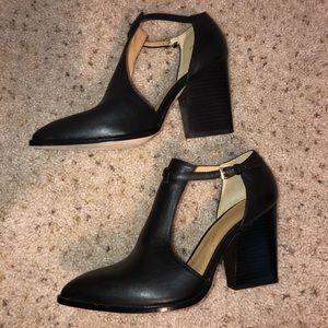 Bettye Muller T Strap Heels